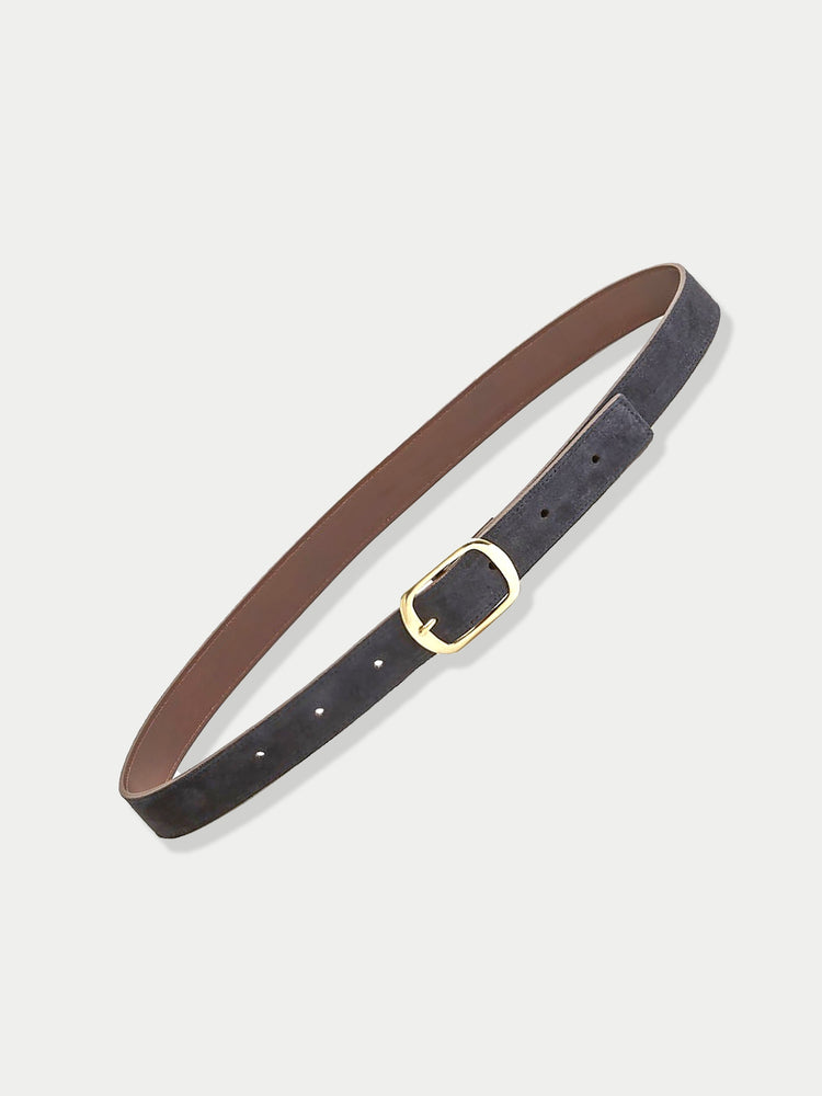 Suede Contrast Belt (Midnight)