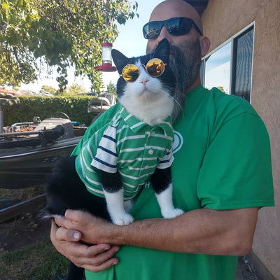 Biscuit and Blinks Cat Daddy Fund Raiser