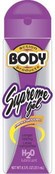 Body Action Supreme Gel Lube 2.3 oz-Body Action-Lubricants