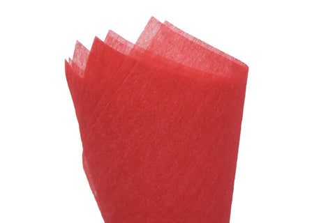 Non-woven Tissue Sheet Deep Red - Sensual Baskets | Romance Baskets With Benefits
