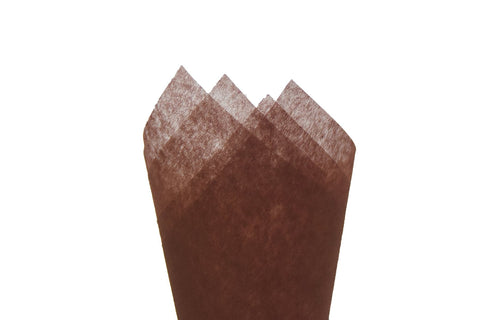 Non-woven Tissue Sheet  Brown - Sensual Baskets | Romance Baskets With Benefits