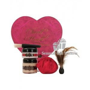 Kama sutra sweet heart box - strawberry-