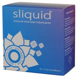 Sliquid Naturals Lube Cube - 12 pack pillows .17 oz-Sliquid-Lubricants
