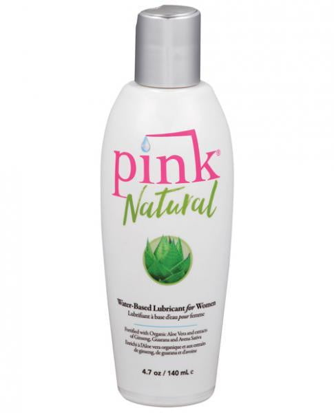 Pink Natural Water Based Lubricant For Women 4.7oz-Empowered products-Lubricants