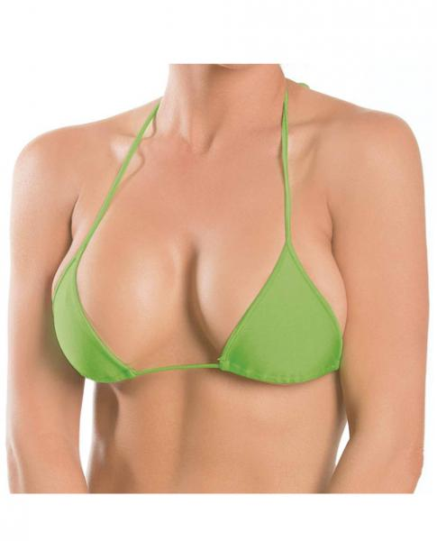 Triangle Top Lime Green O/S-Lingerie