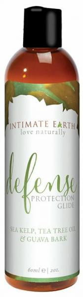 Intimate Earth Defense Anti-Bacterial Lubricant 2oz-Intimate Earth-Lubricants