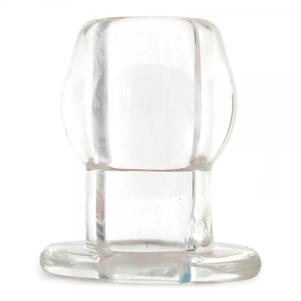 Perfect Fit Large Tunnel Plug - Clear-Perfect Fit Brand-Butt Plugs