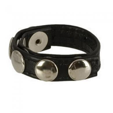 Adonis Leather Collection Ares 5 Snap Ring-Cal Exotics-Cock Rings