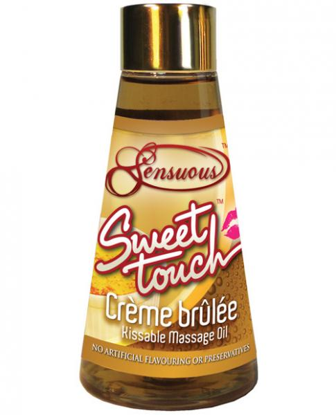 Sweet Touch Massage Oil Creme Brulee 125ml-Sensuous-Sensual Massage