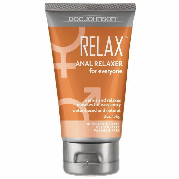 Relax Anal Relaxer for everyone 2oz Boxed-Doc Johnson-Anal Lubricants