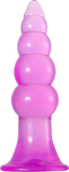 Fun Jelly Butt Plugs Pink Set of 2-Evolved Novelties-Anal Trainer Kits
