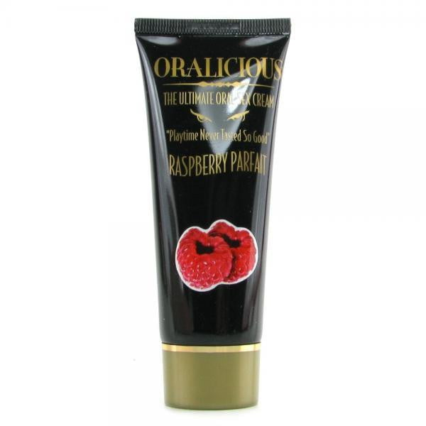 Oralicious The Ultimate Oral Sex Cream Raspberry 2oz-Hott Products-Oral Sex