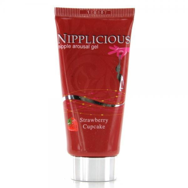 Nipplicious Nipple Arousal Gel Strawberry Cupcake 1 Ounce-Hott Products-Beauty & Body