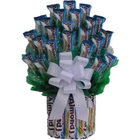All Almond Joy Candy Bouquet-Chocolate Bouquet