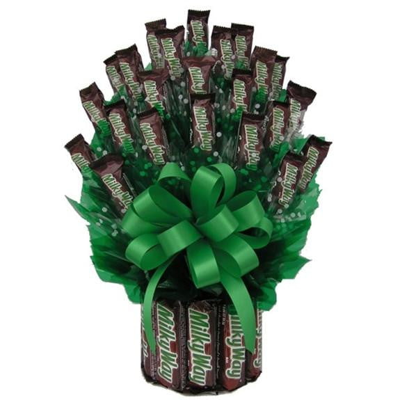 All Milkyway Candy Bouquet-Large-Chocolate Bouquet