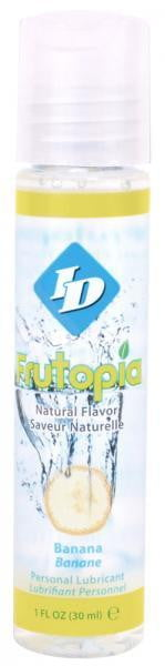 ID Frutopia Lubricant Banana 1oz-Sensual Baskets | Romance Baskets With Benefits