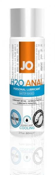 JO Anal H2O Cool Lubricant 2 oz.-System Jo-Anal Lubricants