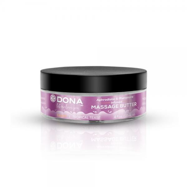 Dona Massage Butter Sassy Tropical Tease 4oz-System Jo-Sensual Massage
