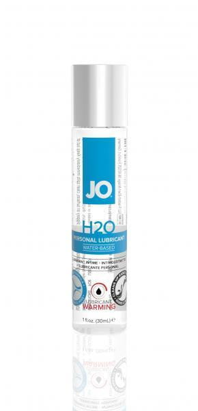 JO H2O Warming Lubricant 1oz Bottle-System JO-Lubricants