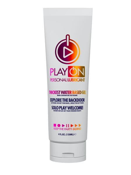 Play On H2O Lubricant 4oz Gel Tube-System JO-Lubricants