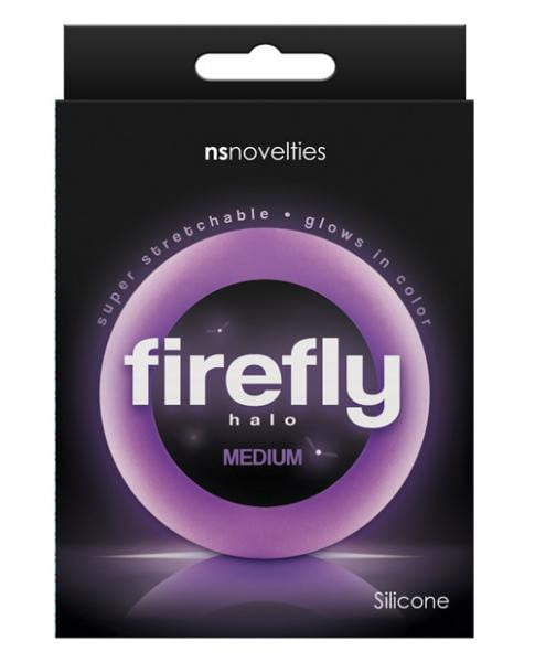Firefly Halo Medium Cock Ring Purple-NS Novelties-Cock Rings
