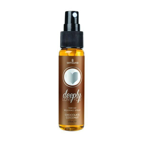 Deeply Love You Chocolate Coconut Throat Relaxing Spray 1oz-Sensuva-Beauty & Body