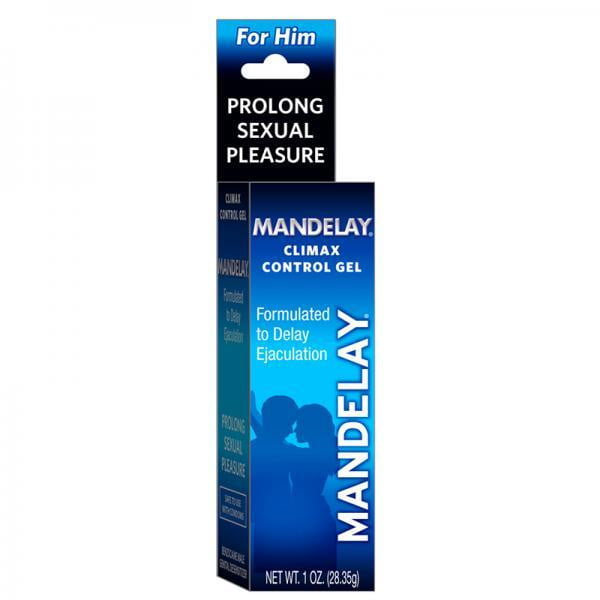 Mandelay Climax Control Gel 1oz-Sensual Baskets | Romance Baskets With Benefits-Sexual Enhancers