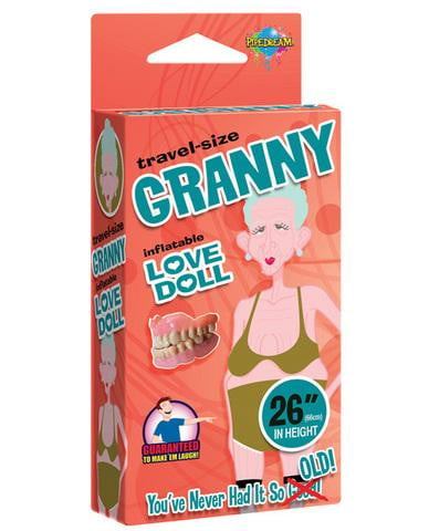 26 inches travel size granny love doll