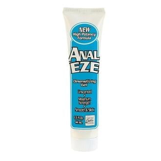 Anal Eze Desensitizing Gel 1.5 fluid ounces-Cal Exotics-Lubricants