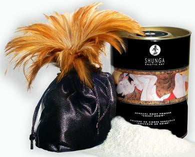 """Sweet Snow"" Body Powder - Honey-Shunga-Beauty & Body"
