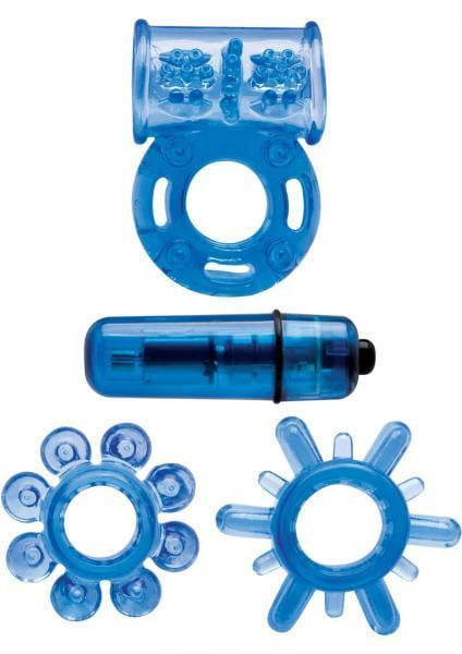 Climax Kit Neon Blue-Topco Sales-Cock Rings