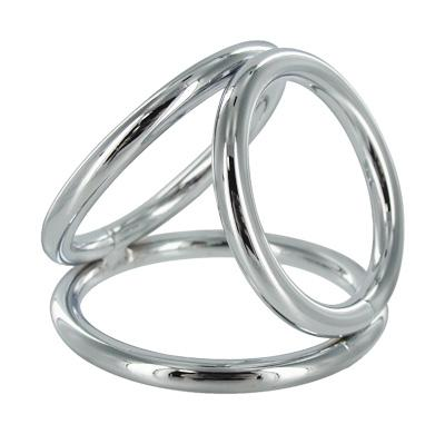 The Triad Chamber Cock And Ball Ring Medium-XR Brands-Chastity & Cock Cages