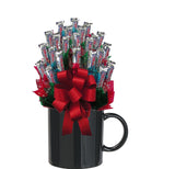 THREE MUSKETEERS™ CANDY BOUQUET MUG-Black-