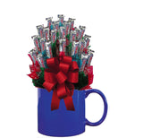 THREE MUSKETEERS™ CANDY BOUQUET MUG-Blue-