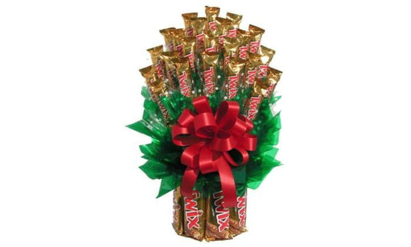 All Twix Candy Bouquet-Chocolate Bouquet