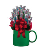 THREE MUSKETEERS™ CANDY BOUQUET MUG-Green-