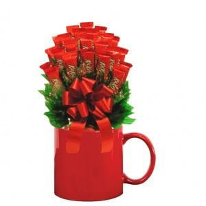 KitKat Candy Bouquet Mug-Candy Mug Bouquet