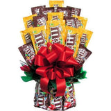 All M&M Candy Bouquet-Large-Chocolate Bouquet