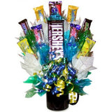 Hersey MIXED CHOCOLATE CANDY BOUQUET MUG-Candy Mug Bouquet