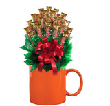 TWIX™ CANDY BOUQUET MUG-Orange-Candy Mug Bouquet