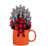 THREE MUSKETEERS™ CANDY BOUQUET MUG-Orange-