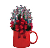 THREE MUSKETEERS™ CANDY BOUQUET MUG-Red-