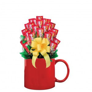 Skittles Candy Mug Bouquet-
