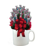 THREE MUSKETEERS™ CANDY BOUQUET MUG-White-