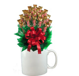 TWIX™ CANDY BOUQUET MUG-White-Candy Mug Bouquet