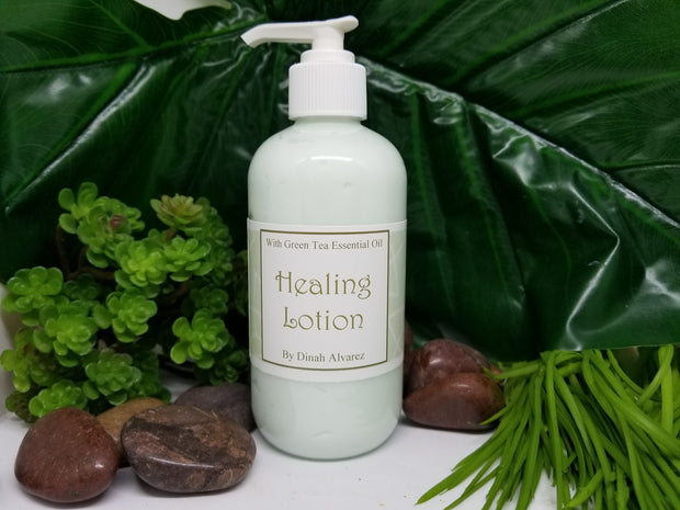 Green Tea Healing Lotion - 10 oz.