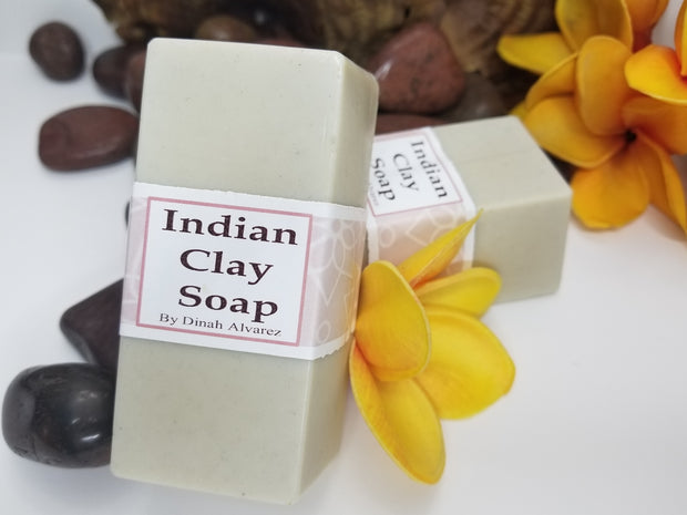 Indian Clay soap 8oz