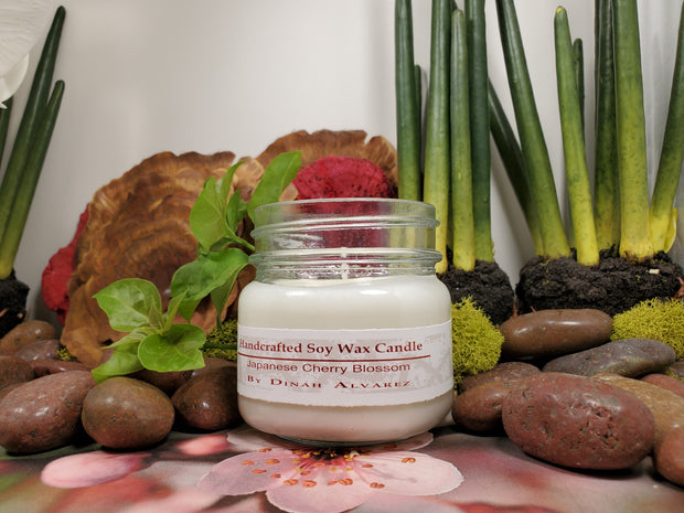 Japanese Cherry Blossom Massage Candle