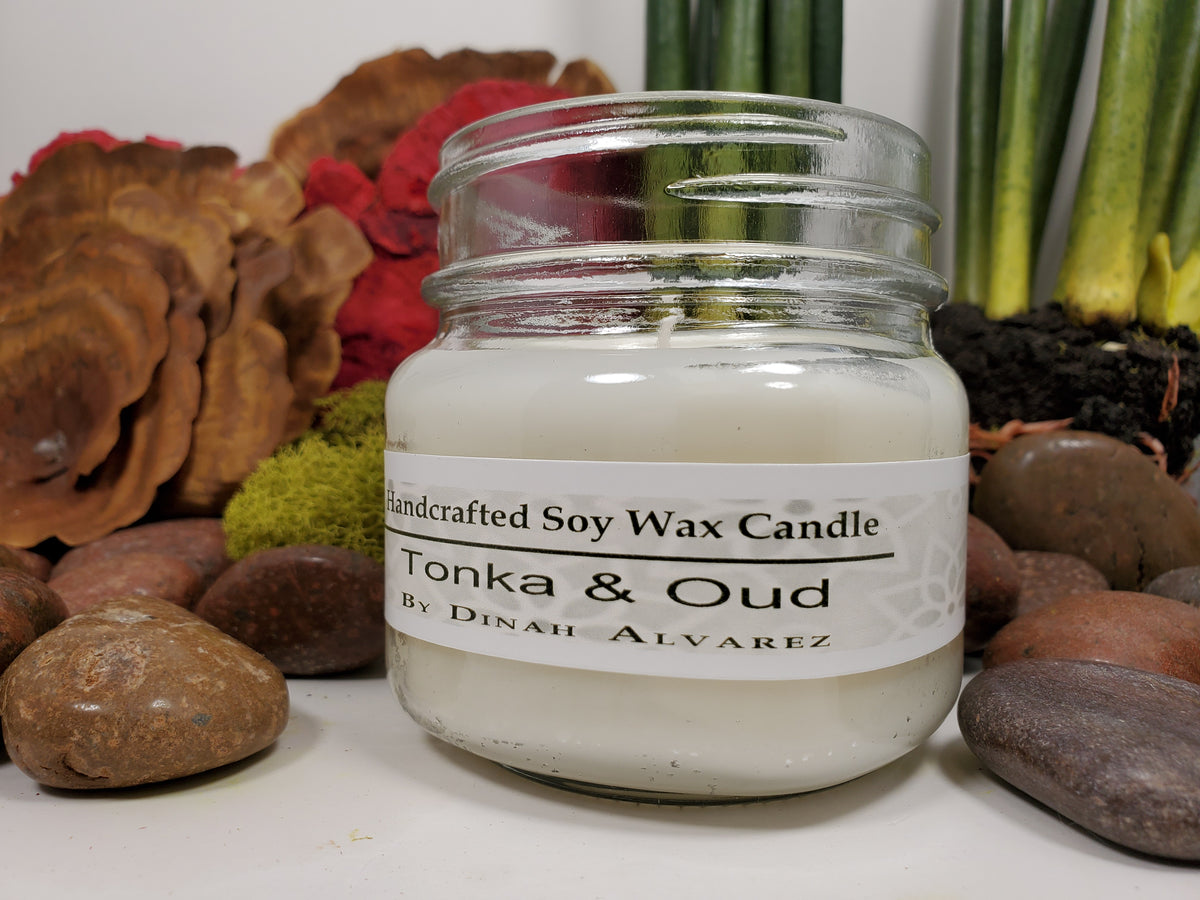 Tonka & Oud Massage Candle