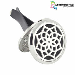Mandala Flower Aromatherapy Car Diffuser Locket
